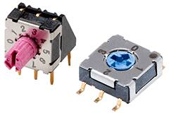 Image of CUI Devices' IP67 Rated DIP Switches