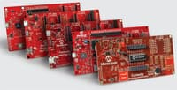 Image of Microchip Curiosity Development Board Platform